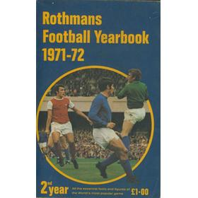 ROTHMANS FOOTBALL YEARBOOK 1971-72