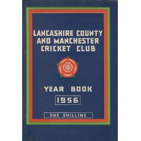 OFFICIAL HANDBOOK OF THE LANCASHIRE COUNTY AND MANCHESTER CRICKET CLUB 1956
