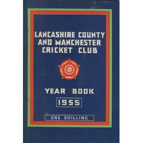 OFFICIAL HANDBOOK OF THE LANCASHIRE COUNTY AND MANCHESTER CRICKET CLUB 1955