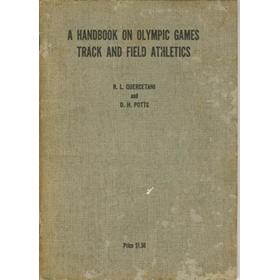 A HANDBOOK ON OLYMPIC GAMES TRACK AND FIELD ATHLETICS