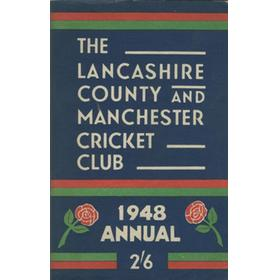 OFFICIAL HANDBOOK OF THE LANCASHIRE COUNTY AND MANCHESTER CRICKET CLUB 1948