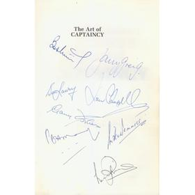 THE ART OF CAPTAINCY (MULTI-SIGNED)