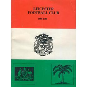 LEICESTER FOOTBALL CLUB 1880-1980