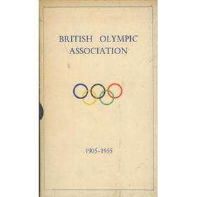 THE BRITISH OLYMPIC ASSOCIATION ANNUAL DINNER 1955 - GUEST LIST ETC