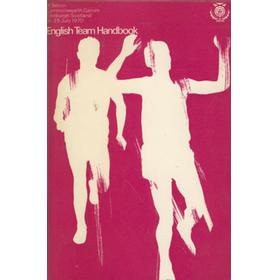 BRITISH COMMONWEALTH GAMES EDINBURGH 1970 - ENGLAND TEAM HANDBOOK