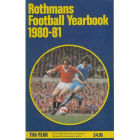 ROTHMANS FOOTBALL YEARBOOK 1980-81