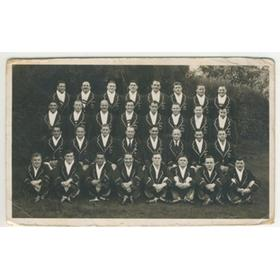SOUTH AFRICA 1951-52 RUGBY POSTCARD