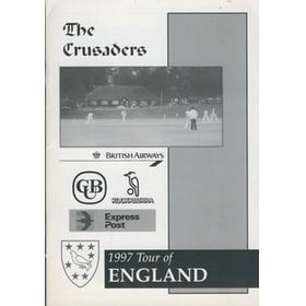 THE CRUSADERS (AUSTRALIA) CRICKET TOUR TO THE UK 1997 BROCHURE