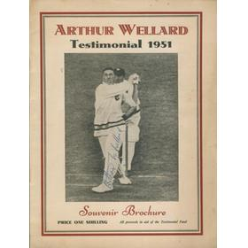ARTHUR WELLARD (SOMERSET) CRICKET BENEFIT BROCHURE