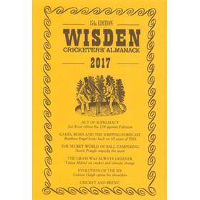 WISDEN TRADITIONAL-STYLE DUST JACKET 2017