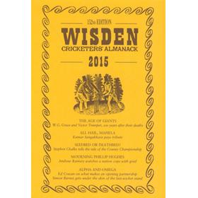 WISDEN TRADITIONAL-STYLE DUST JACKET 2015