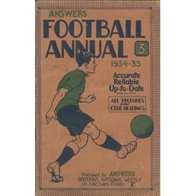 ANSWERS FOOTBALL ANNUAL 1934-35