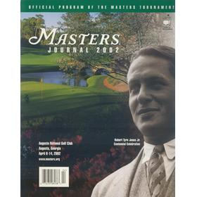 THE MASTERS 2002 (AUGUSTA) OFFICIAL GOLF PROGRAM