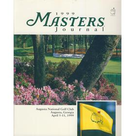 MASTERS 1999 (AUGUSTA) OFFICIAL GOLF PROGRAMME