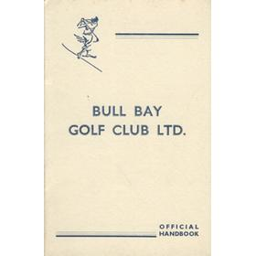 BULL BAY GOLF CLUB OFFICIAL HANDBOOK