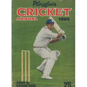 PLAYFAIR CRICKET ANNUAL 1965