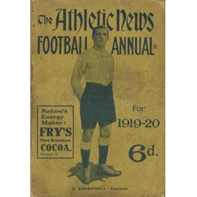 ATHLETIC NEWS FOOTBALL ANNUAL 1919-20