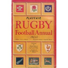 PLAYFAIR RUGBY FOOTBALL ANNUAL 1962-63