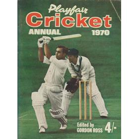 PLAYFAIR CRICKET ANNUAL 1970