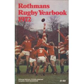 ROTHMANS RUGBY YEARBOOK 1972