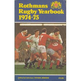 ROTHMANS RUGBY YEARBOOK 1974-75