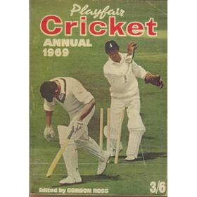PLAYFAIR CRICKET ANNUAL 1969