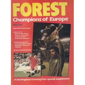FOREST - CHAMPIONS OF EUROPE
