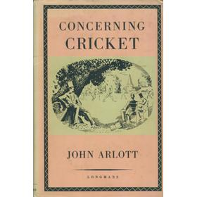 CONCERNING CRICKET: STUDIES OF THE PLAY AND THE PLAYERS