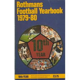 ROTHMANS FOOTBALL YEARBOOK 1979-80