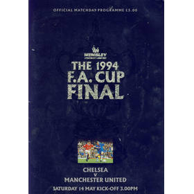 CHELSEA V MANCHESTER UNITED 1994 (F.A. CUP FINAL) FOOTBALL PROGRAMME