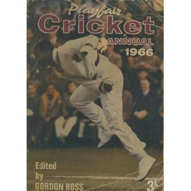 PLAYFAIR CRICKET ANNUAL 1966