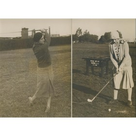 SAN ANDRES GOLF CLUB, ARGENTINA, 1932 PHOTOGRAPHS