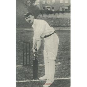 ALBERT ERNEST KNIGHT (LEICESTERSHIRE & ENGLAND) CRICKET POSTCARD