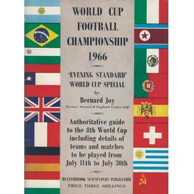 WORLD CUP FOOTBALL CHAMPIONSHIP 1966 - EVENING STANDARD WORLD CUP SPECIAL