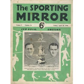THE SPORTING MIRROR - CUP FINAL EDITION 1950