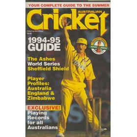 AUSTRALIAN CRICKET - ASHES 1994-95 GUIDE