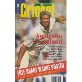 ABC CRICKET BOOK: ENGLAND TOUR OF AUSTRALIA 1994-95
