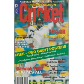 ABC CRICKET BOOK: ENGLAND TOUR OF AUSTRALIA 1998-99