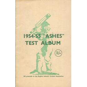 "1954-55 ""ASHES"" TEST ALBUM"
