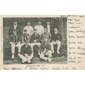 GLOUCESTERSHIRE COUNTY CRICKET CLUB 1903 POSTCARD