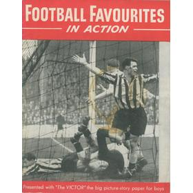 FOOTBALL FAVOURITES IN ACTION