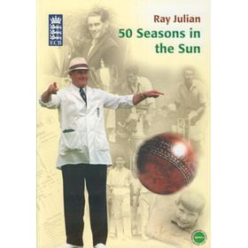 50 SEASONS IN THE SUN - RAY JULIAN TRIBUTE BROCHURE
