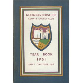 GLOUCESTERSHIRE COUNTY CRICKET CLUB YEAR BOOK 1951