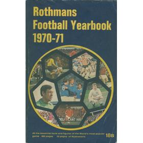 ROTHMANS FOOTBALL YEARBOOK 1970-71