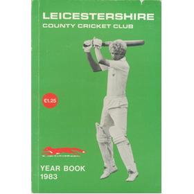 LEICESTERSHIRE COUNTY CRICKET CLUB 1983 YEAR BOOK
