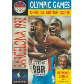 BARCELONA 1992 OLYMPIC GAMES - OFFICIAL BRITISH GUIDE