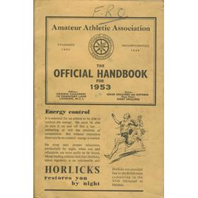 AMATEUR ATHLETIC ASSOCIATION HANDBOOK 1953