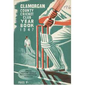 GLAMORGAN COUNTY CRICKET CLUB YEAR BOOK 1947