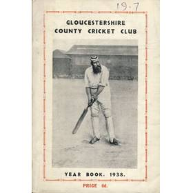 GLOUCESTERSHIRE COUNTY CRICKET CLUB  YEAR BOOK 1938