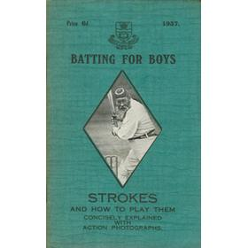 BATTING FOR BOYS - STROKES AND HOW TO PLAY THEM
